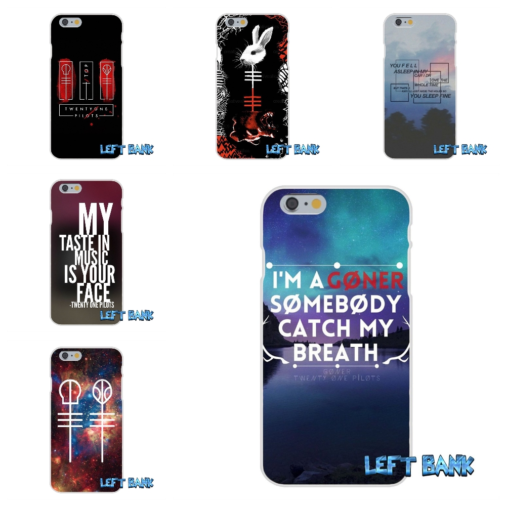 Twenty One Pilots Blurryface Song lyrics Quote Soft Silicone Cell Phone Case For Samsung Galaxy Note 3 4 5 S4 S5 MINI S6 S7 edge