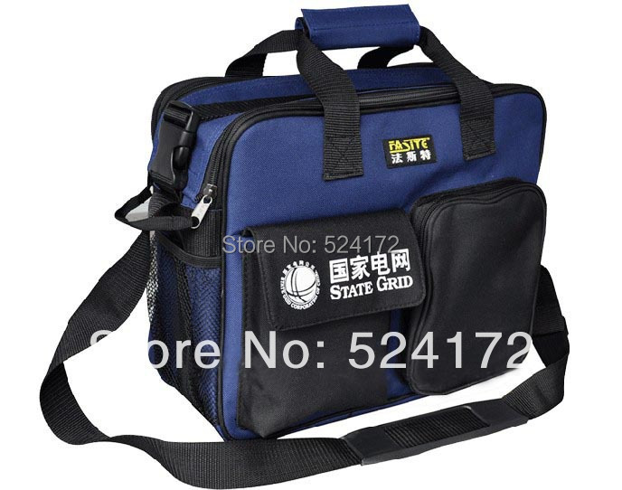 ФОТО free shipping 14'' multi-function thicken Oxford Cloth Durable Portable Tools hand bag electrical maintance storage bag 61013