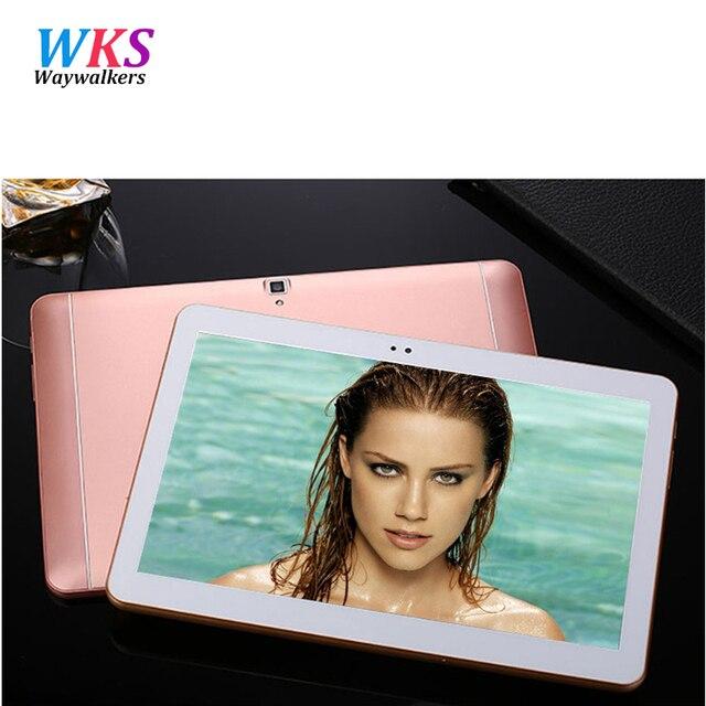 Waywakers 4 г LTE S106 Android 6.0 10 дюймов планшетный ПК Octa core 4 ГБ Оперативная память 64 ГБ Встроенная память 8 ядер 5MP IPS дети лучший подарок Планшеты компьютер