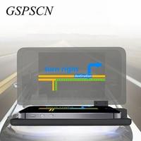GSPSCN Universal H6 Car HUD Holder Head Up Display GPS Navigator Phone Smartphone Projector Reflection Board