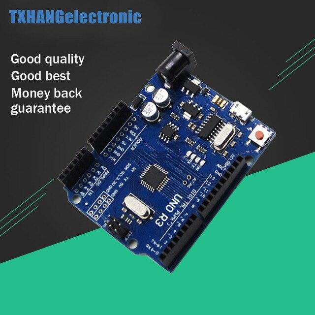 Micro USB CH340G CH340 Módulo Controlador Board ATMEGA328P-AU Substituir UNO R3 MEGA328P ATmega16U2 Para Arduino uno