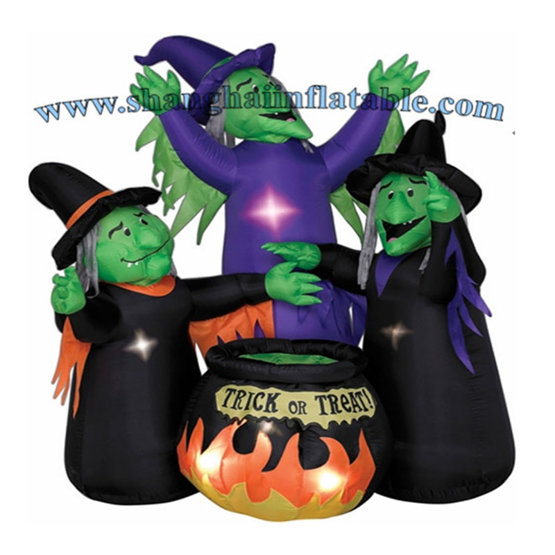 Giant Halloween Inflatable Witch Witches