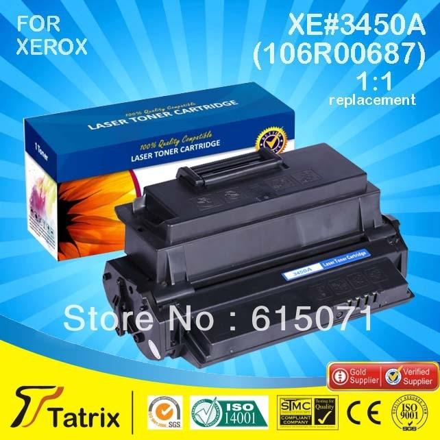FREE DHL MAIL SHIPPING ,106R00687 Toner for Xerox Phaser 3450Printer Toner Cartridge. Best 106R00687 Toner