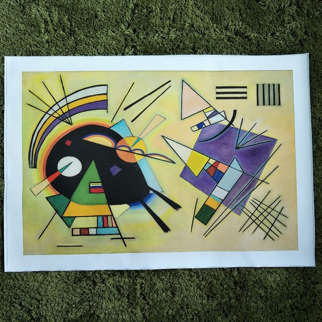 Online Shop xdr597 Wassily Kandinsky Painting DIY frame art posters ...
