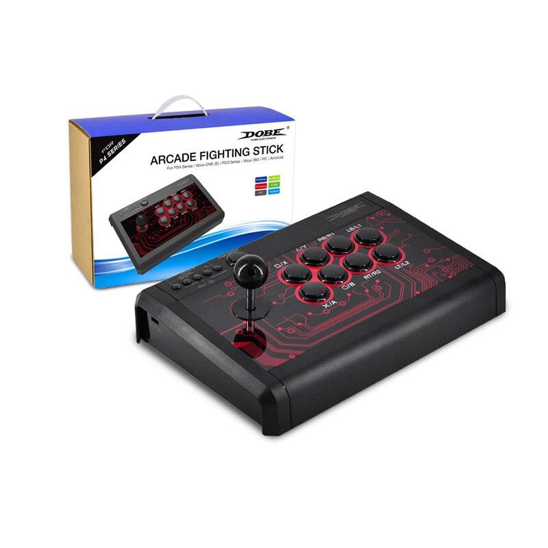 Manette de jeu filaire manette de jeu manette de combat pour PS4 PS3 pour XBOX ONE XBOX 360 PC Android pour console de jeu commutateur