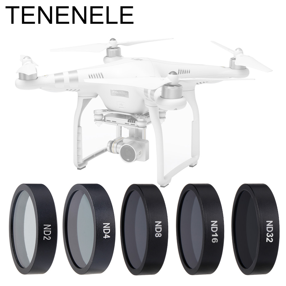Drone Filter Neutral Density Camera Filters For DJI Phantom 3 4K/Advanced/Standard/Professional/3 SE ND4 8 16 Lens Accessories