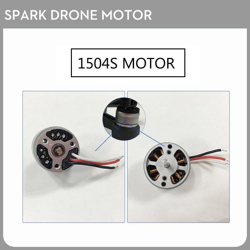 Original 2PCS DJI Spark Drone Motor Spare Part 1504S Bare Motor Repair Part ( CW + CCW ) dji phantom original dji e600 3508 forward motor reverse motor motor rc spare part parts accessory accessories