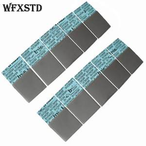 WFXSTD 1mm Silicon GPU Thermal Pad For LAIRD notebook graphics memory Beiqiao CPU GPU Thermal Silica pad flex740 Conductive Pad(China)