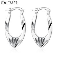 Wholesale 925 silver Earring for Women Wedding Jewelry Cubic Zirconia Inlayed Engagement Earring Bijoux Women E685