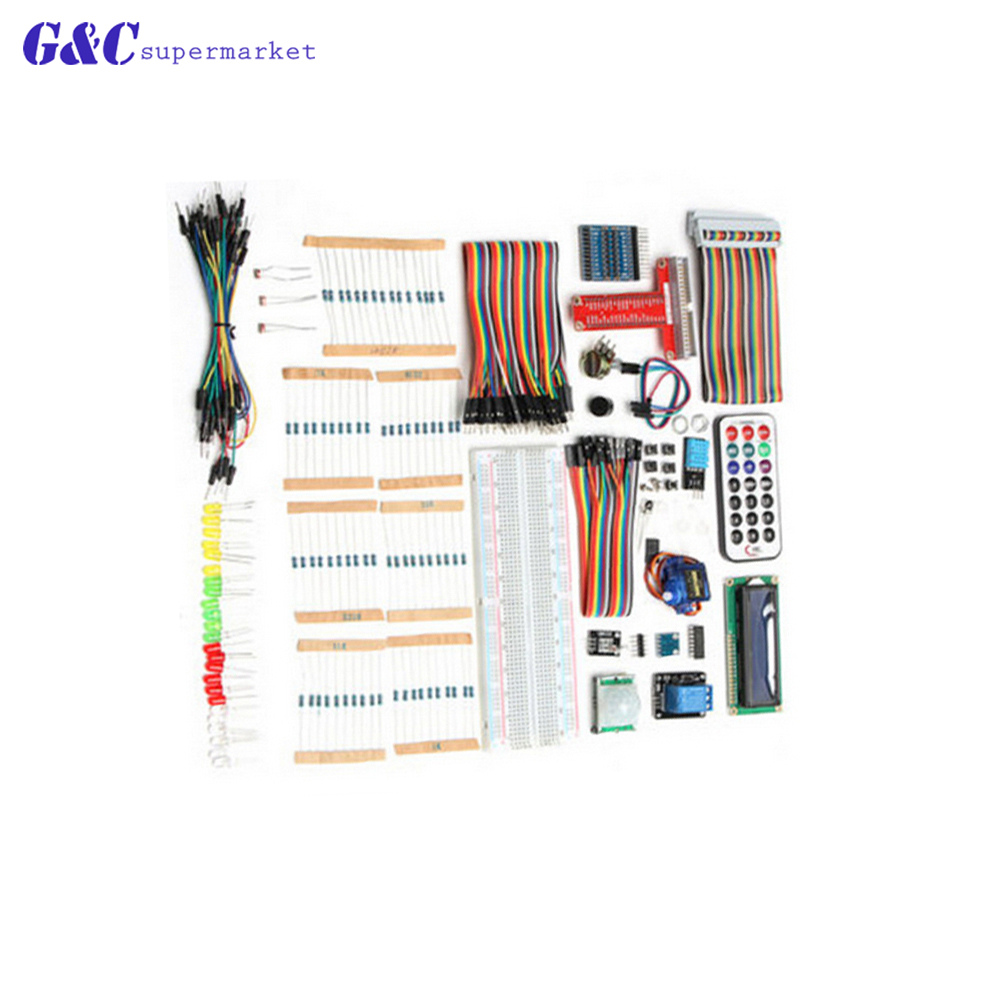 Starter Kit UNO R3 mini Breadboard LCD jumper wire button for Arduino compatile