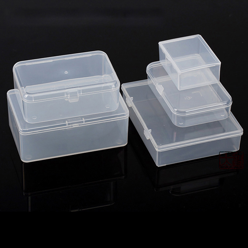 Multi-size Plastic <font><b>Storage</b></font> Box PP Transparent Small Case Pack boxes DIY Making Part Material Accessories Supplies