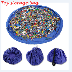 Twitterplaza Toy Storage Bag For Baby and Kids Toys Organizer Quick Toy Mat Simple Portable  Size 150cm about 60 inch