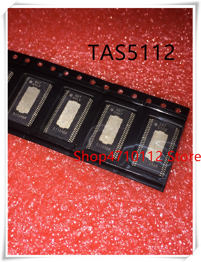 NEW 5PCS/LOT TAS5112 5112G4 TAS5112DFDR TAS5112DFD   HTSSOP-56 IC