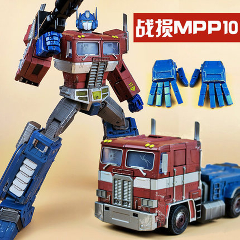 цена WJ WeiJiang G1 Transformation OP Commander Battle Damage MPP10D Alloy Diecast Masterpiece Collection Figure Robot Toys