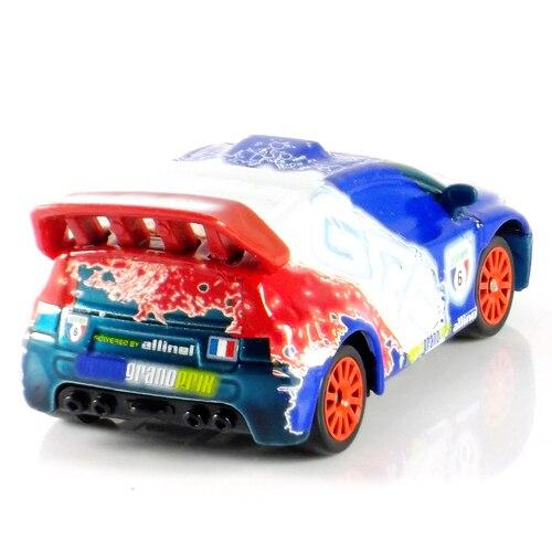 Pixar Cars 2 Neon Metallic Finish GRC France Racer Diecast loose ...