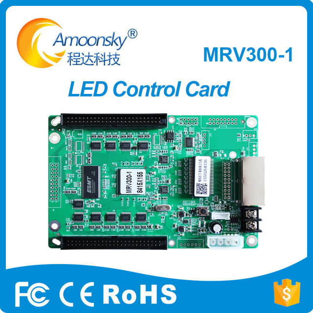US $17 58 5% OFF|mrv300 mrv300 1 novastar receiver configuration file read  back rgb led controller time programmable led controller-in Screens from