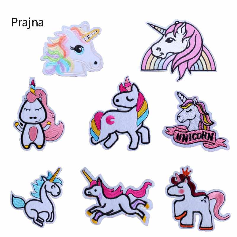 945224cc8fef US $0.05 |Unique Rainbow Unicorn Pony Patch Badges For Bags Parche Anime  Iron On Patch Sew Embroidery Fabric Stickers For Baby Clothes D-in Patches  ...
