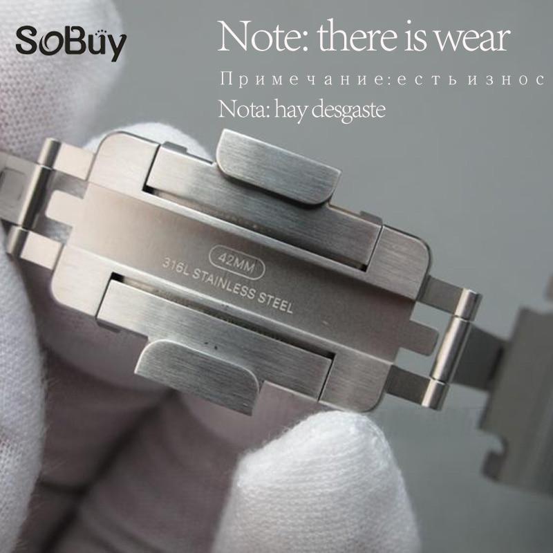 Véritable Original Sangle Pour correas Apple Montre bande 42mm 38mm En métal Inoxydable En Acier iwatch Série 3/2 /1 lien Bracelet bracelet