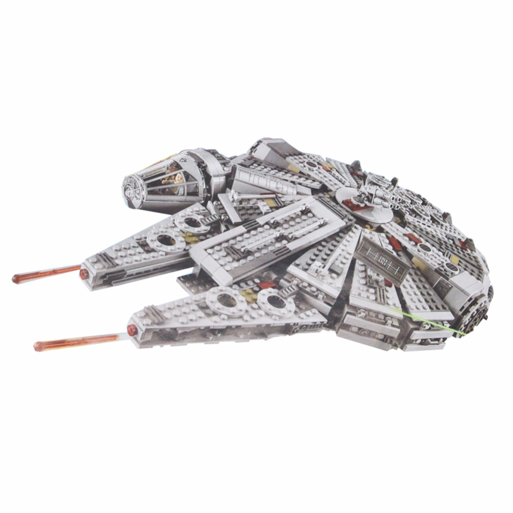 Lepin Millennium Falcon Star Wars Set 1381 Pcs Mini Bricks Single Sale Models & Building Blocks Toys for Children мобильный телефон philips e560 black
