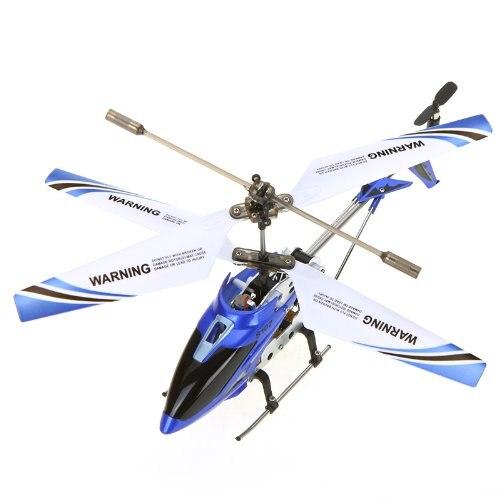 SYMA S107G Мини 3.5 канала инфракрасного Радиоуправляемый вертолет с гироскопом (синий)