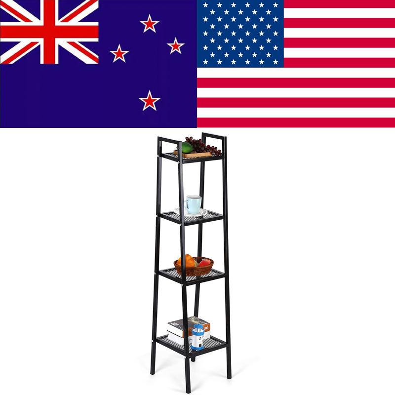 3535148cm 4 Tier Ladder Shelf Unit Bookshelf Bookcase Book Storage Display Rack Stand Opbergkast Estanteria Metalica In Bookcases From Furniture On