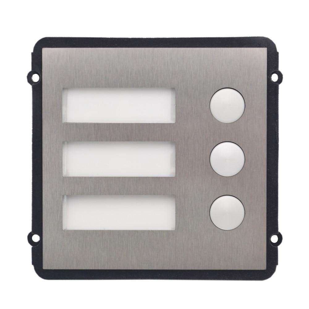VTO2000A B Knop Module voor VTO2000A C, IP deurbel onderdelen, video intercom onderdelen, toegangscontrole onderdelen, deurbel onderdelen-in Toegangscontroletoetsenborden van Veiligheid en bescherming op AliExpress - 11.11_Dubbel 11Vrijgezellendag 1