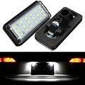 2pcs Error Free 18 LED 3528 SMD Number License Plate Light Bulb Car Light Fit For Lexus LX470 LX570 Toyota J100/120 Land Cruiser