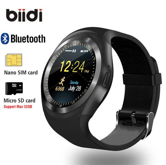 1.54 Bluetooth Smart Watch Android IOS 2G smart phone watch Support TF/SIM card fitness watch Pedometer Message push smartwatch hot sale smart watch charming l6 sim card ips round screen stainless steel bluetooth smartwatch push or ios android phone high
