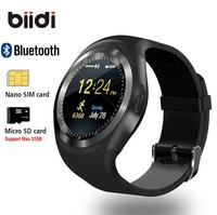 1 54 Bluetooth Smart Watch Android IOS 2G Smart Phone Watch Support TF SIM Card Fitness