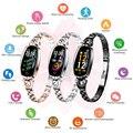 Смарт-браслет женские Смарт-часы монитор сердечного ритма фитнес-трекер водонепроницаемый смарт-Браслет фитнес-Браслет Смарт-браслет