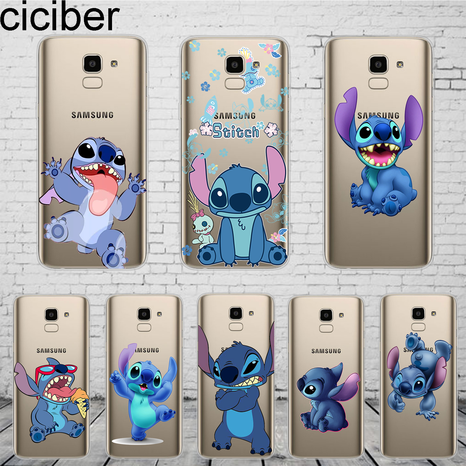 ciciber Cute Stich font b Stitch b font For font b Samsung b font font b