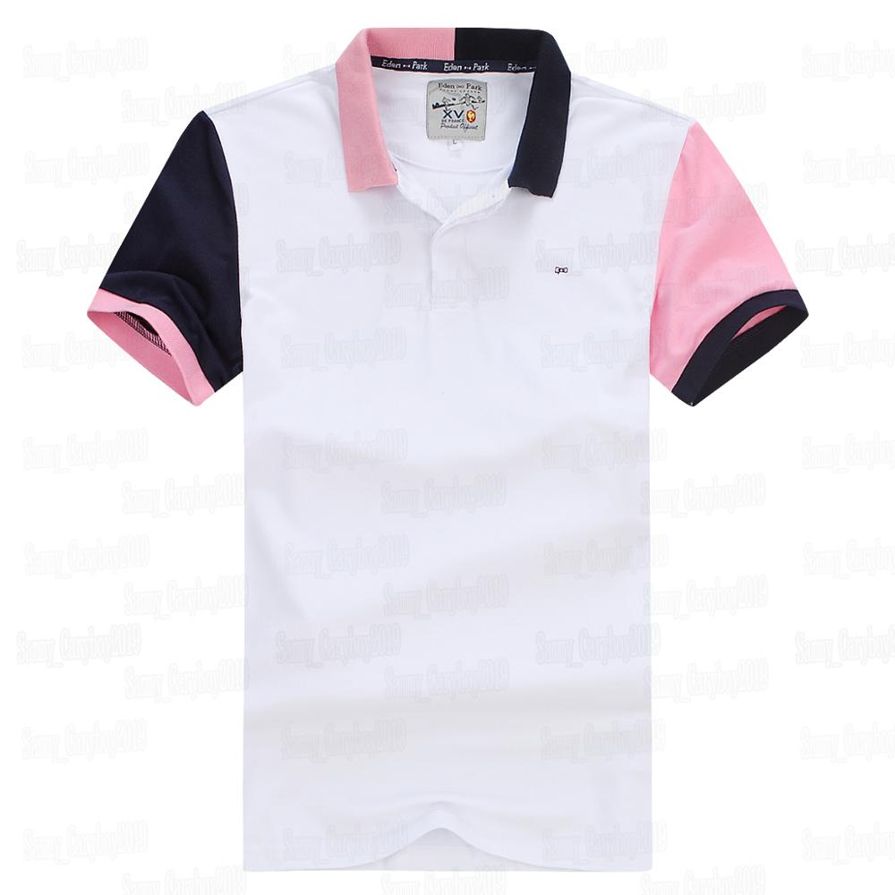 eden park hot selling 2019 short polo for men france nice quality 98 cotton tee shirt homme