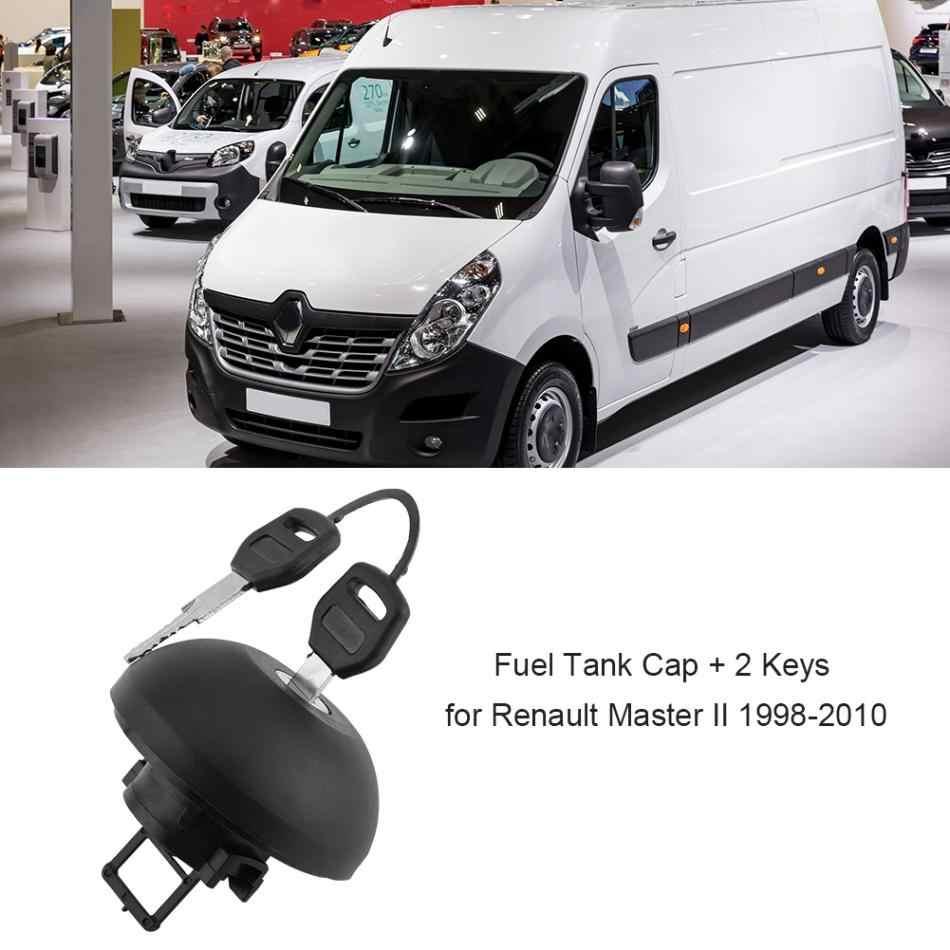 燃料タンクキャップ燃料ガソリンディーゼルロックキャップカバーと 2 ルノーマスター II 1998 1999 2000 2001 2002 2003 2004-2010