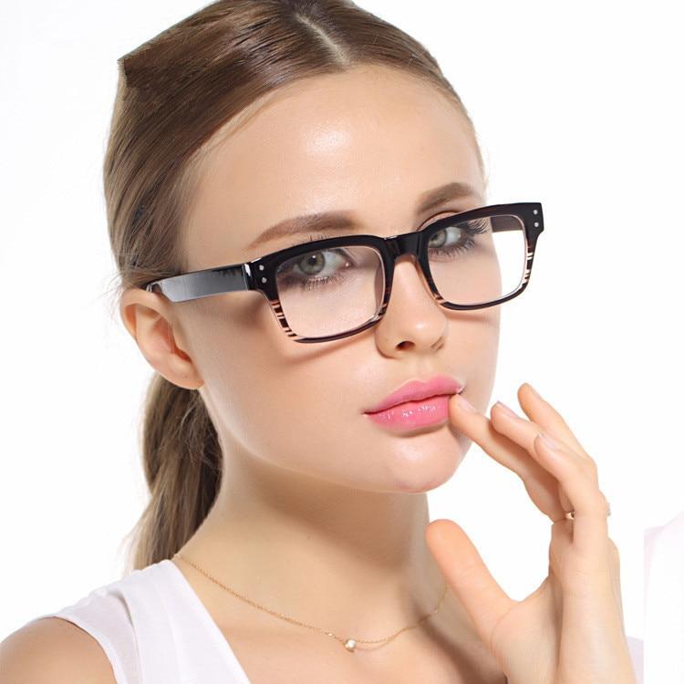 korean glasses frames tr 90 large box black stripe prescription glasses frames eye glasses frames for women and men in eyewear frames from womens clothing