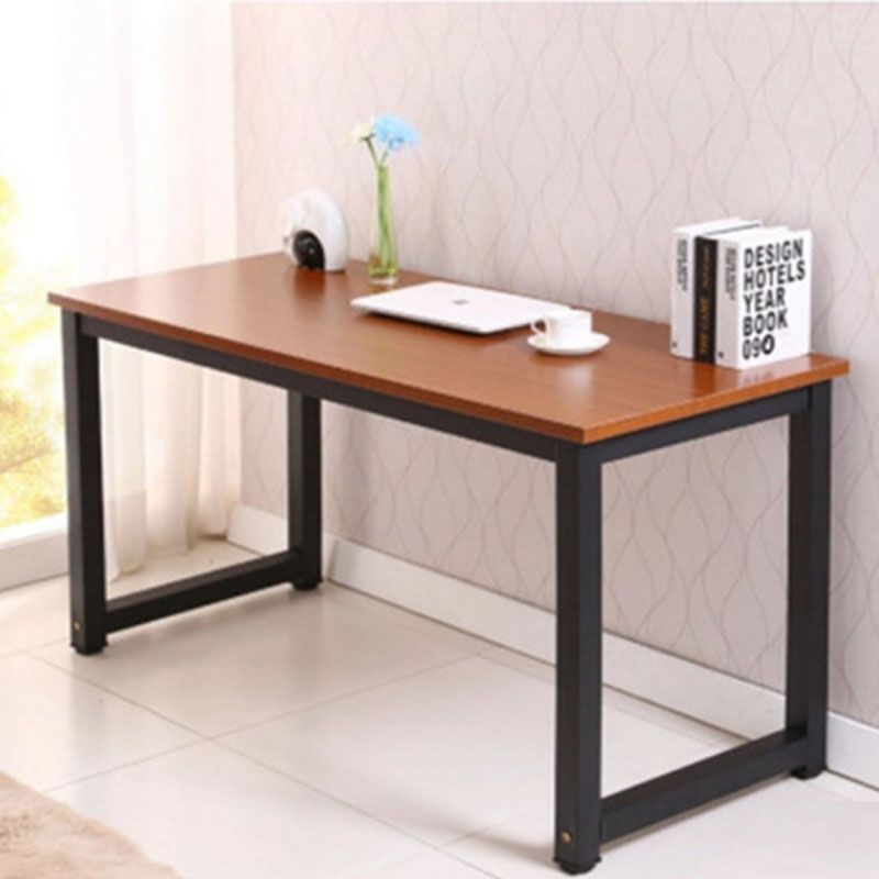 New notebook desktop computer desk simple home desk steel wood student children desk writing desk customization