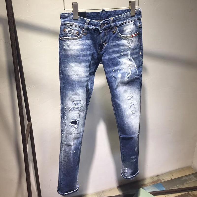 2018 Nuovo Inverno Jeans Donna Della Metà di Vita Superiore di Vendita Dei Jeans Per Le Donne Più Il Formato Blu Casual Denim Mamma Jeans Femme pantaloni Pantaloni-in Jeans da Abbigliamento da donna su  Gruppo 1