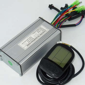 36V 48V 500W 22-25Amax Brushless DC Motor Controller Ebike LCD5 KUNTENG LCD  Controller +KT-LCD5 Display One Set