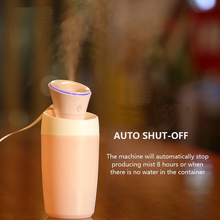 Mini car humidifier USB water lily household humidifier portable water meter