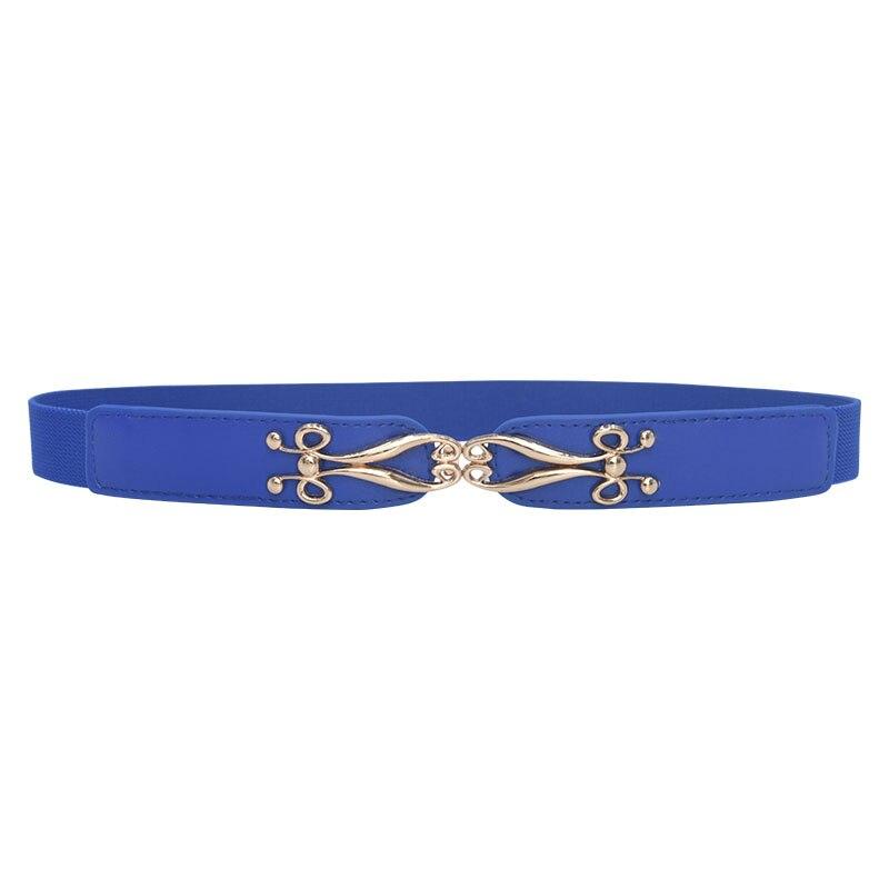 Seabigtoo Elastic women dress belts female European Retro Style thin belts waist chain High Quality Women Fashion 2019 Straps