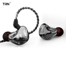 2019 TRN X6 6BA драйвер устройства в ухо наушник 6 балансных арматура HIFI монитор этапе Спорт Бег Разрешение IEM Съемная 2Pin
