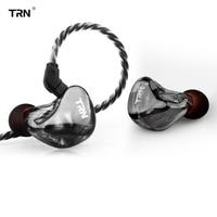 2019 TRN X6 6BA Driver Unit In Ear Earphone 6 Balanced Armature HIFI Monitor Stage Sports Running Resolution IEM Detachable 2Pin