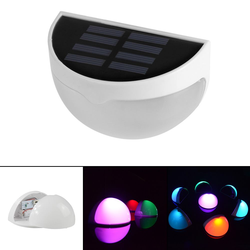 Online get cheap modern garden fence aliexpress alibaba group led solar outdoor light 6 led light sensor auto onoff waterproof cool white warm white for stair outdoor post garden fence yard baanklon Choice Image