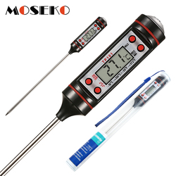 MOSEKO Цифровой Кухонный Термометр для приготовления мяса, воды, еды, зонд, печь, электронный термометр для барбекю, бытовые кухонные инструмен...