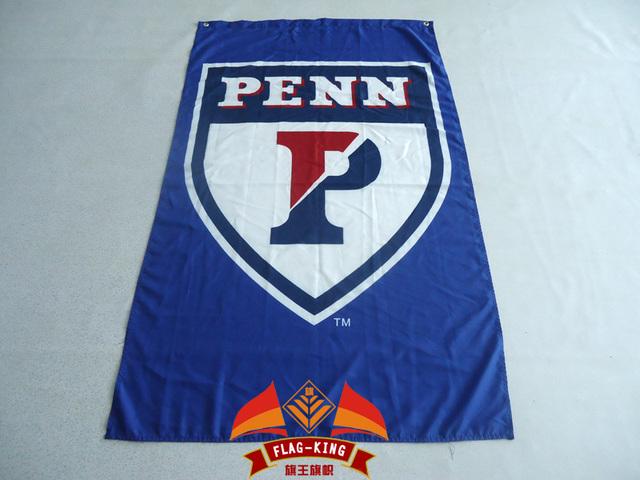 buy popular 1c39f dee79 University of Pennsylvania Quakers Flag PENN Large 3x5 Feet Flag Custom  Flag USA Team Flag-in Flags, Banners & Accessories from Home & Garden on ...