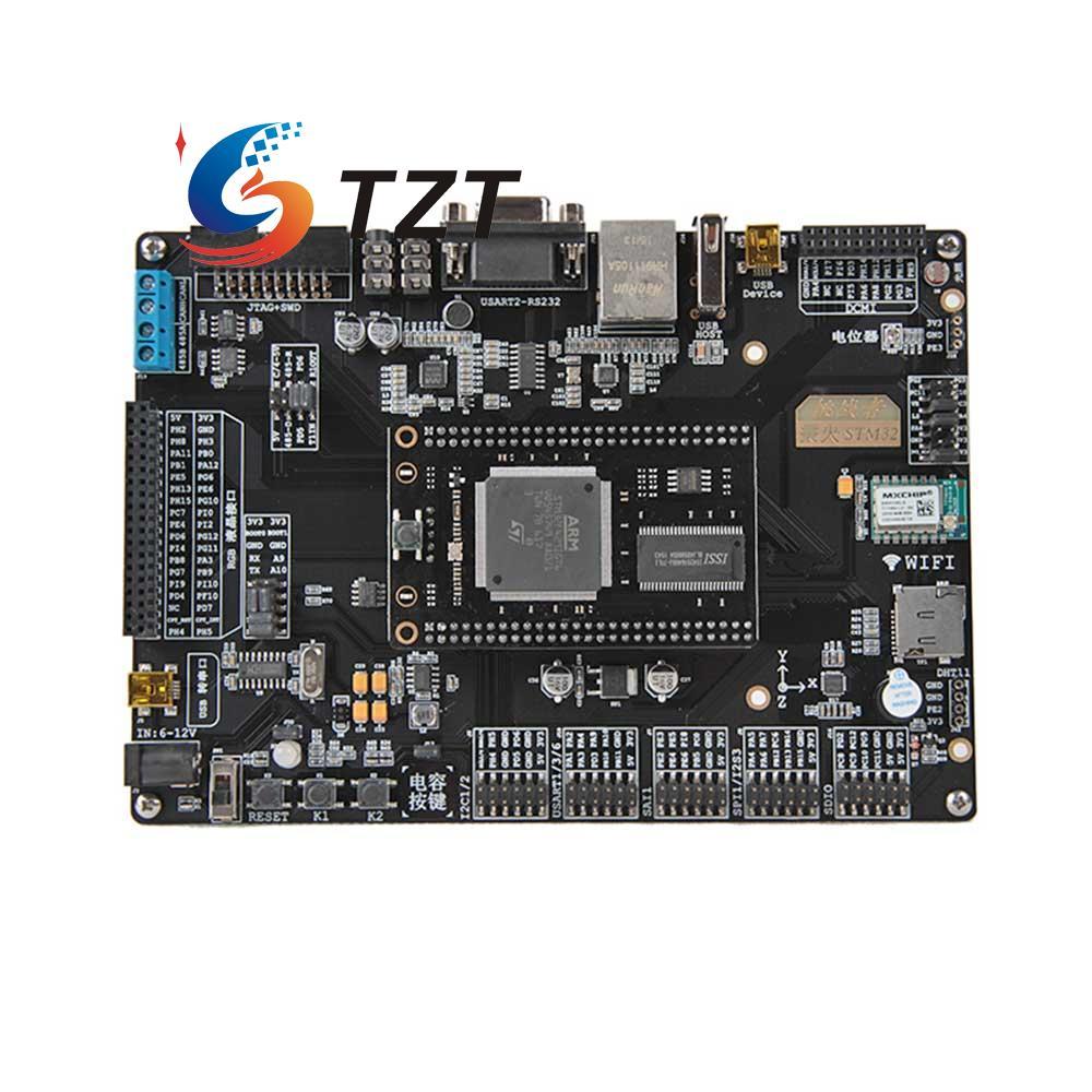 STM32 Development Board ARM M4 Board F429 WIFI Module Phone APP Control 51 SCM DIY fast free ship learn 51 scm for linux netrouter mt7620a development board openwrt development board