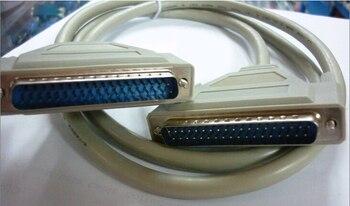 1.5M DB37 37Pin mâle à mâle M/M Port série câble de données cordon pour imprimante à fil