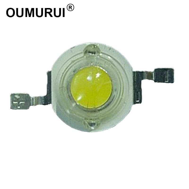 1W LED chip High power LED BEAD Lamp Warm White 300mA 3 2 3 4V 100