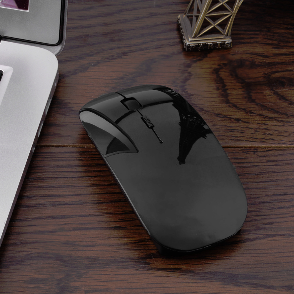 Bluetooth 3.0 Wireless Mouse Portable Computer Mouse Computer Rechargeable Super Slim Portable For Laptop Computer