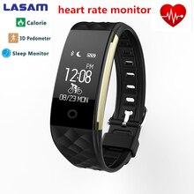 Bluetooth браслет Heart Rate Мониторы Smart Band IP67 Водонепроницаемый SmartBand трекер Браслет для Android IOS Телефон S2