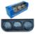 Universal 52 MM 3 Em 1 medidor de temperatura do Óleo + medidor de medidor de temperatura da água + Kit Medidor De Pressão De Óleo do carro/auto Gauge/Triple tacômetro/Medidor Triplo